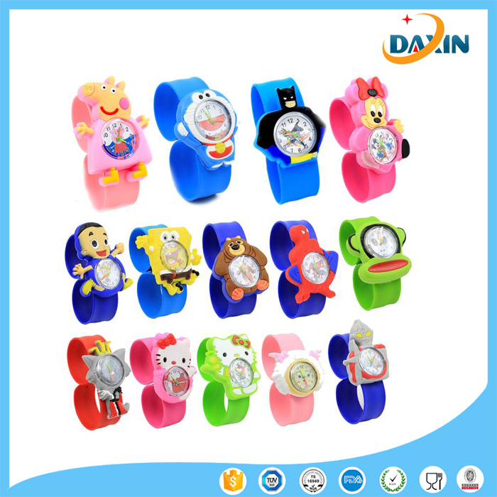 Wholesale popular silicone slap watches for kids