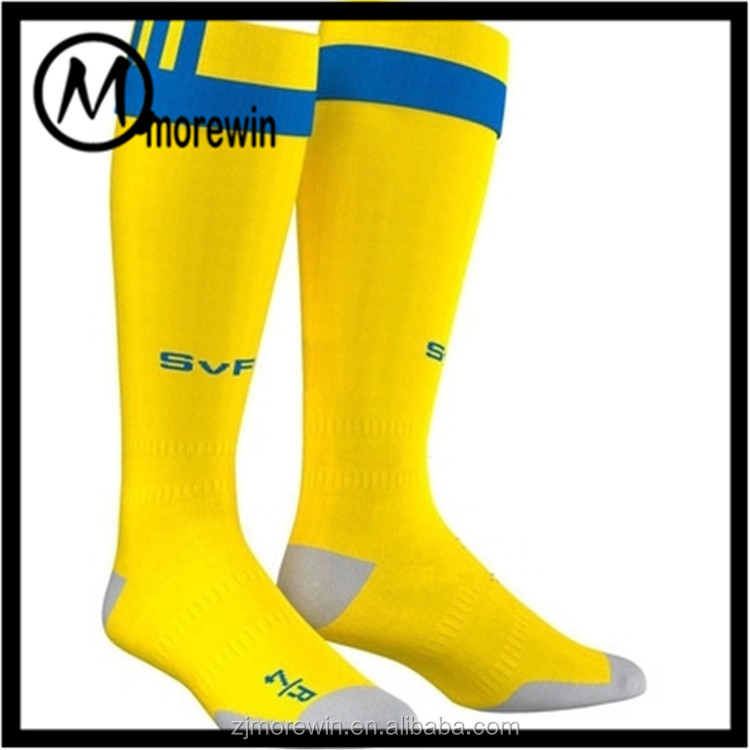 Morewin Factory Custom Logo Knee High Sport Socks Fashion Football Running 20-30hhmg Professional Compression Sock Wholesale