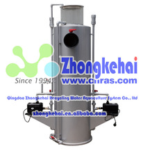 Seawater water circulation recirculating aquaculture system Protein skimmer