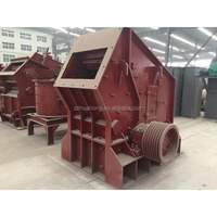 Large stone impact rock crusher for stone breaking