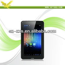 Zhixingsheng 7 inch mid android tablet android case and keyboard support 2g/3g phone calling A13-747