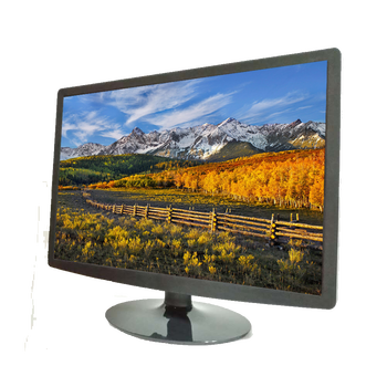 22 inch Elegant gaming monitor full HD 1080P led lcd monitor with AV input