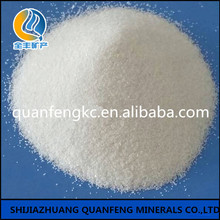Silica fume for pure white silica sand