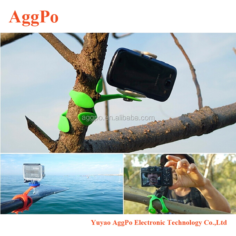 Flexible Tripod/Mount for CSC Mirrorless, Compact Cameras, Lightweight Selfie holder for mobile phone,Go Pro camera