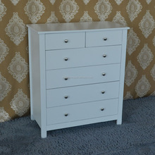 Good living global furniture high quality new product wood white drawer chest for home furniture