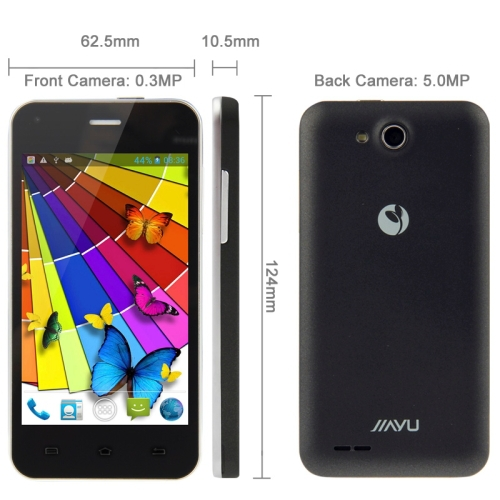 Original Jiayu F1 4GB Black, 4.0 inch 3G Android 4.2 Smart Phone