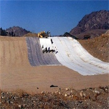 Nonwoven short fiber drainage &amp filter geofabric / geotextile fabric For landfill project