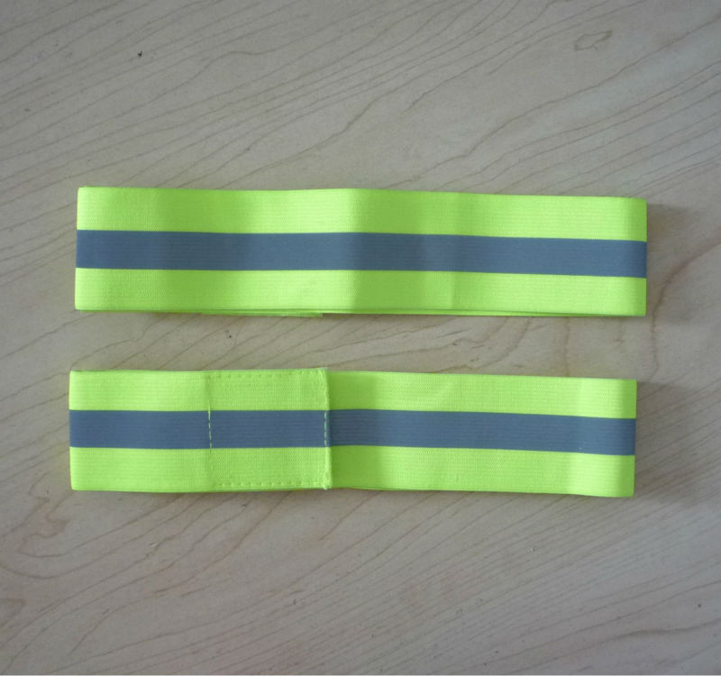 high visibility reflective strips reflective armband with customer logo printing