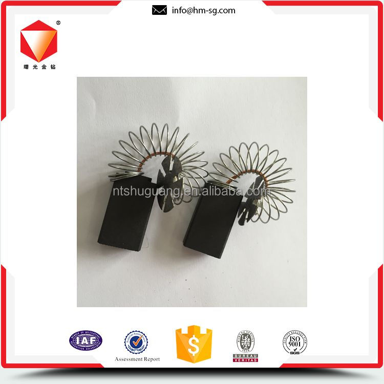 Reliable quality corrosion resistance carbon brush for aeg planer