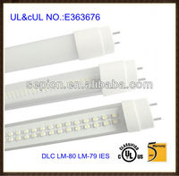 ETL approved led tube light t8 2 feet with external driver power