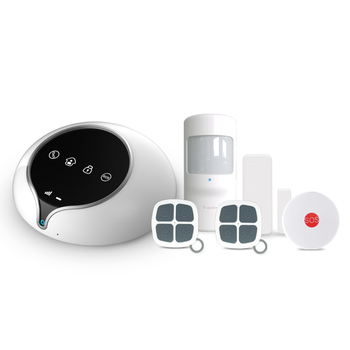 WCDMA 3G Wireless Home Security Alarm System with App control & home security alarm system with RFID keypad