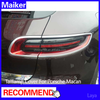 Taillamp Cover auto parts for Porsche Macan accessories taillight cover