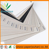 Triplex coated grey card paper board in sheet