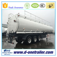 2016 Hot sale 3 or 4 axles ISO oil / chemical tank semi trailer for tractor