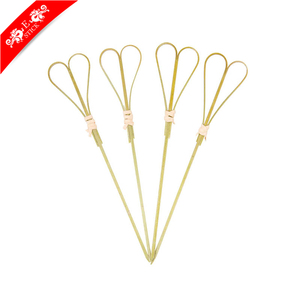 Good Quality promotional custom flat wooden skewers for sale