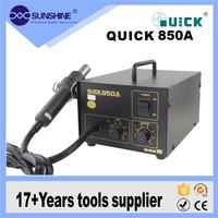 Quick 850a mobile phone bga rework station with diaphragm pump