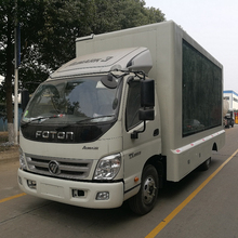 P4 P6 P8 Outdoor LED Mobile Advertising Truck Display Outdoor stage For Sale