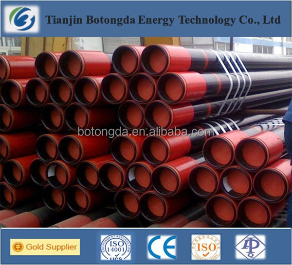 Best price for API 5CT seamless case and tube used as oil pipeline