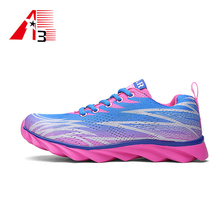 mesh upper comfortable woman sport shoes