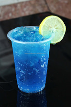 hot item! blue curacao syrup for soda, sorbet,smoothies, blue orange syrup for cocktail