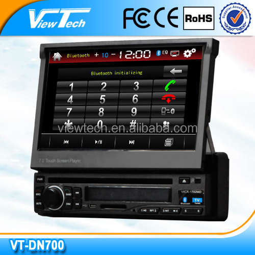 Hot sale 7 inch 1 din car dvd gps