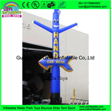 Cartoon Sky Dancer For Outdoor Advertising Air Dancer Blower And Inflatable Tube