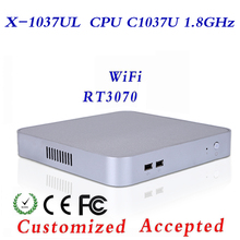 High Performance Mini PC C1037U Barebone PC Desktop Computer Thin Client Mini Itx Case Htpc Cheap Industrial Computer