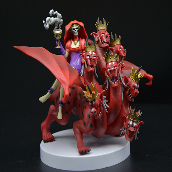 Chinese Custom Skull Fairy Tail Action Figure Statue For Sale