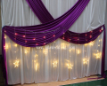 IDA Christmas party led curtain light