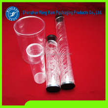 hollow plastic plastic tube hexagon package product wholesale and Professional UV Printing tube Containers