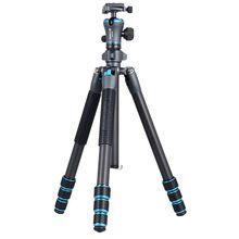 Gizomos excellent high quality professional tripod with carbon fiber material