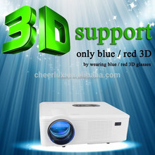 cheapest brand new full hd beamer 1080p support 3D movies with native 1280*800 3000 lumens 150w led lamp