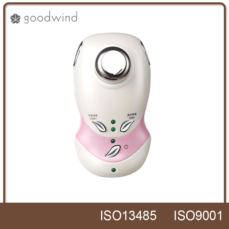 portable ultrasound galvanic face cleaning machine