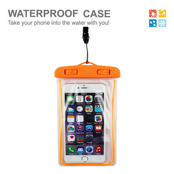 Universal PVC waterproof phone bag waterproof case for asus zenfone 2/for xiaomi red mi 2 waterproof case for ihone 6s
