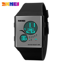 SKMEI 1169 Vogue Chronograph LED Wrist Watches Men Women