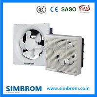10'' inch wall mounted air-pressure type PP plastic ,condenser runs motor ventilator air exhaust fan