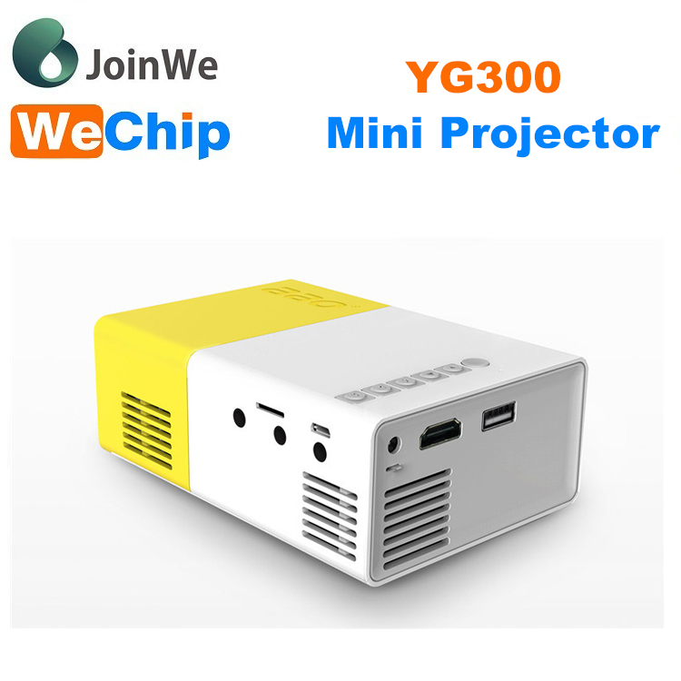 Mini Projector Mobile Phone YG300 Home LED Projector CinemaTheater Beamer Multimedia Game Pocket Projector