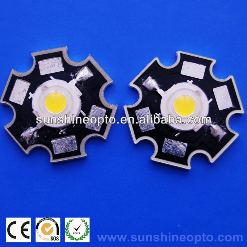 1w high power led aluminum star pcb