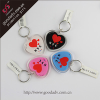 2015 Tourist souvenirs promotional custom cheap acrylic keychain