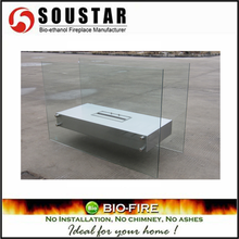 Soustar EF-1001A portable free standing glass fireplace
