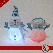 8 inches Special Snowman LED Colour Changing Christmas Present