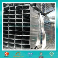 construction materials RHS galvanized steel pipe made in china