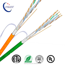cat6 Aluminum foil and braid security network cable Outdoor waterproof communication cable