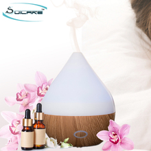 2017 150ml cheap electric aroma essential oil diffuser humidifier with 7 color led light