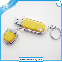 Promotion Gift Fashion 8gb Leather Usb Flash Drive