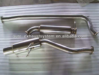 304 stainless steel exhaust catback