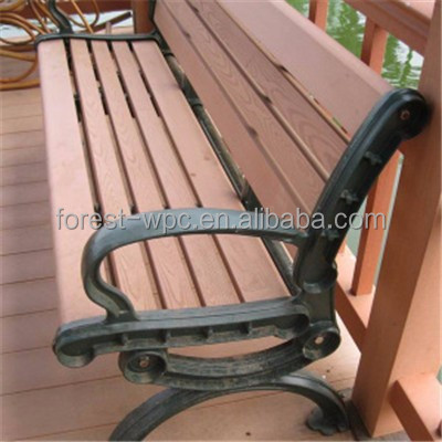 wpc decking composite wood wood wheel bench