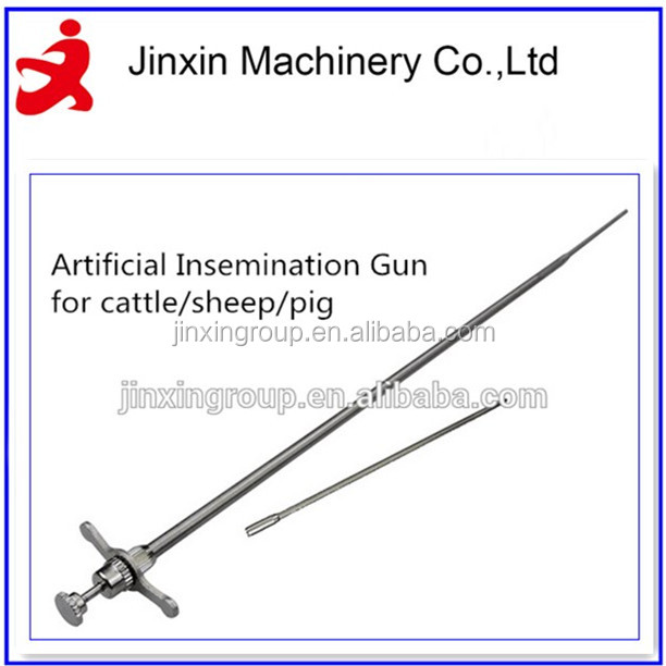 New style stainless steel artificial insemination gun & injection China supplier/ container for artificial insemination/
