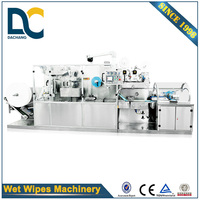 High speed full auto baby wipes making machine, single wet wipes machine, wet wipes manufacturing machine