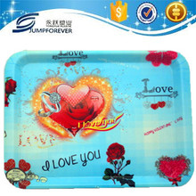 Hot sale high quality valentine's day plastic food tray
